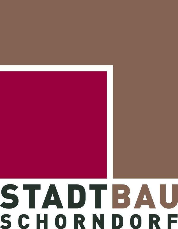 Stadtbau Quadrat farbig