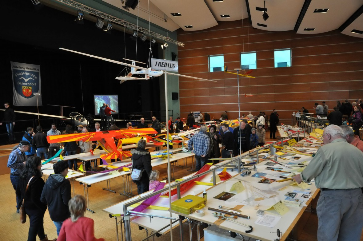 Modellflug Ausstellung
